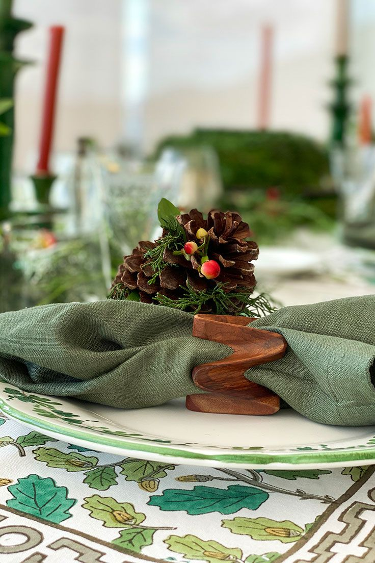 Deck Your Halls And Tables With Christmas Decor From All Over The World Each Piece Has A Story Behind Maisonnumen Glassw In 2020 Christmas Tableware Decor