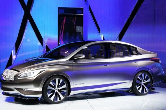 Infiniti Unveils LE Concept Electric Sedan, With World's First Home Wireless Charging System