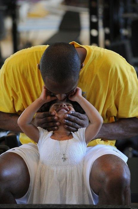 Kobe Bryant & Daughter