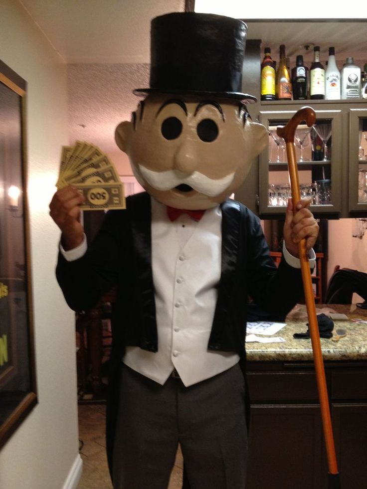 Home Made Mr. Monopoly | Holiday.Halloween | Pinterest ...