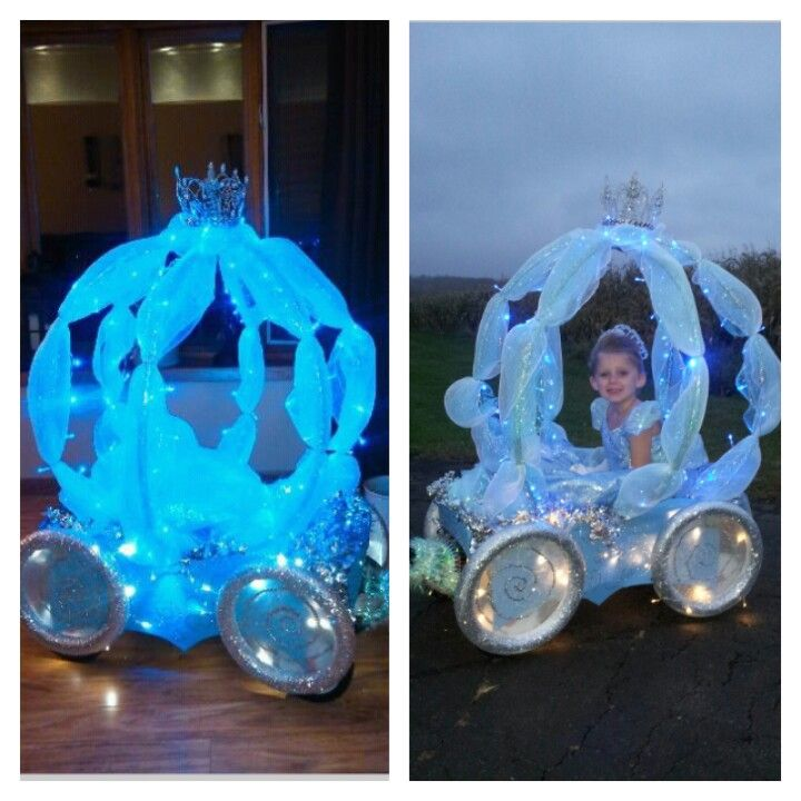 Cinderella Carriage.---HAHAHA Meghan already DID make this :)
