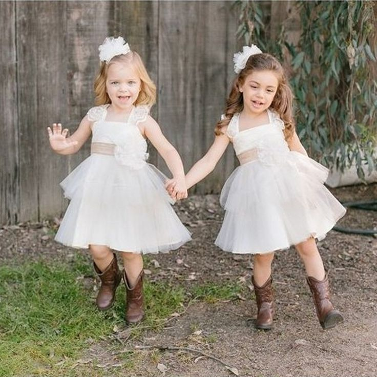 Aliexpress.com: Comprar Vaquero de la boda Kids niña de las flores ...
