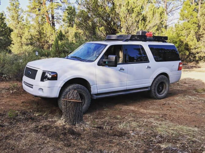 3rd Gen Ford Expedition On 35 Inch Tires Ford Expedition Ford Excursion Expedition