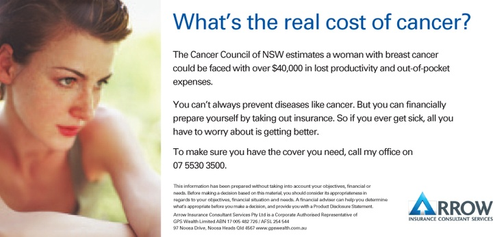 The Real cost of cancer