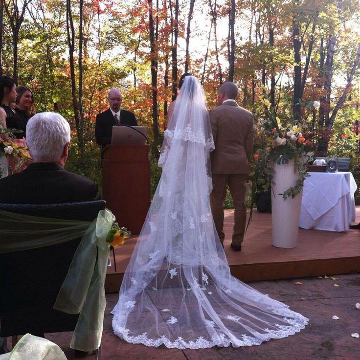 Le voile de la mariée