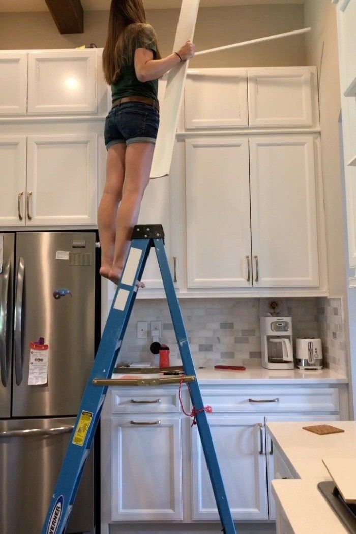 Diy Stacked Kitchen Cabinets, How To Install Stacked Kitchen Cabinets