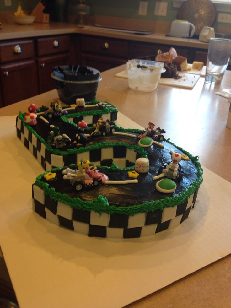 Mario Kart Mario And Cakes On Pinterest