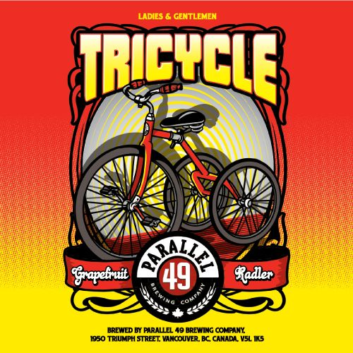 Tricycle Grapefruit Radler Parallel 49 Brewing #BCCRAFTBEER