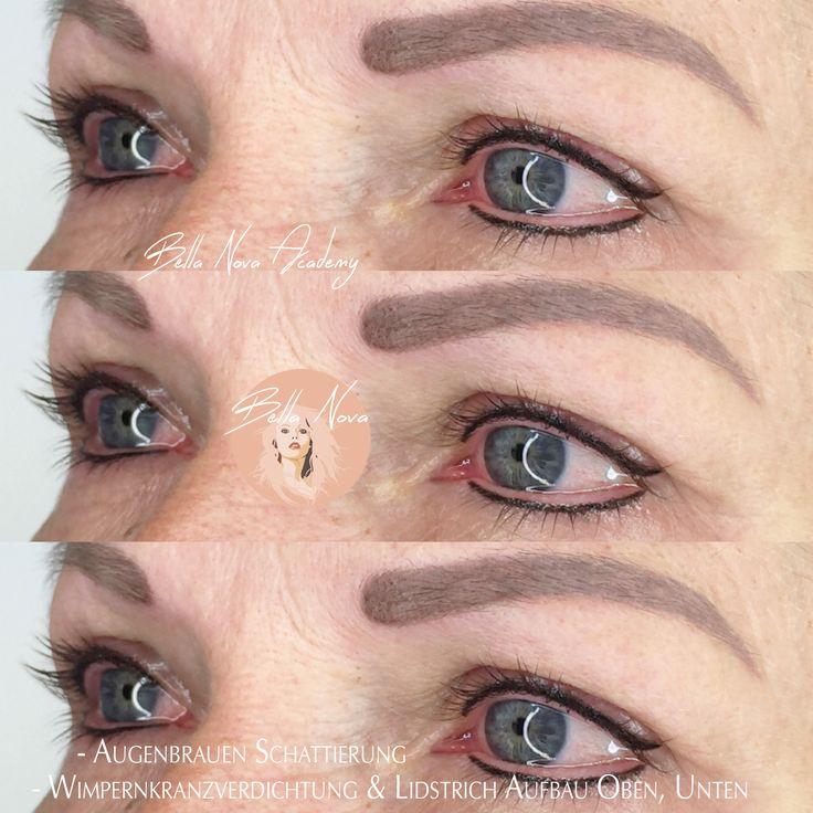 Wimpernkranzverdichtung Permanent Make up