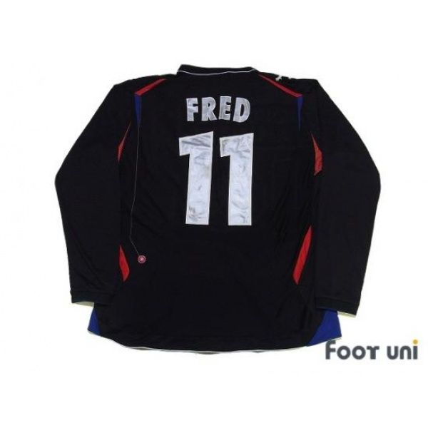 Photo2: Olympique Lyonnais 2006-2007 3RD L/S Shirt #11 Fred umbro - Football Shirts,Soccer Jerseys,Vintage Classic Retro - Online Store From Footuni Japan