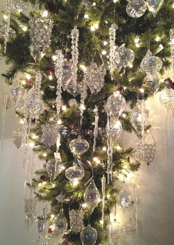 Sparkly Crystal Ornaments Christmas Decorations And