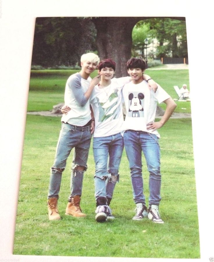 BTS Official MD ZipCode 17520 Group #5 Photo Card Bangtan Boys 2nd Muster