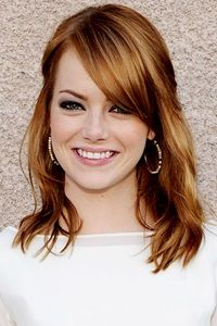 shoulder length hairstyles with bangs - Google Search