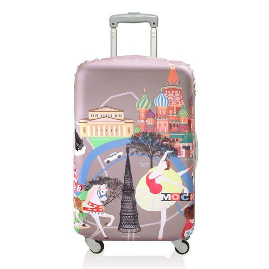 Чехол для чемодана LOQI Urban  / Москва