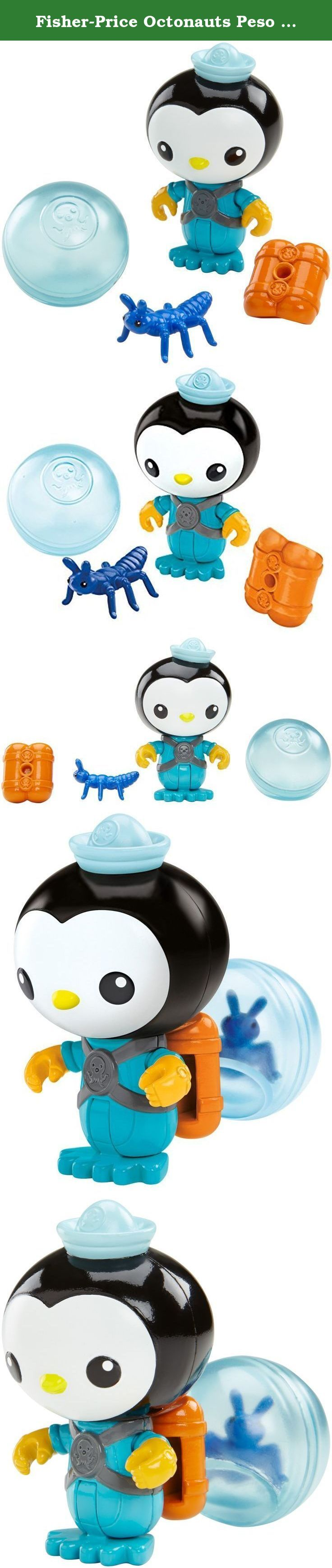 Fisher-Price Octonauts Peso and The Tree Lobster. A baby tree lobster has lost its way and it's up to peso to rescue and return this little friend to his family! Peso comes with a snap-on diving tank and rescue fish-pack that's perfect for holding and safely transporting the tree lobster! Ages 3+.