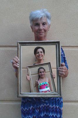 Craft Time: Una foto generazionale per festeggiare la mia mamm...