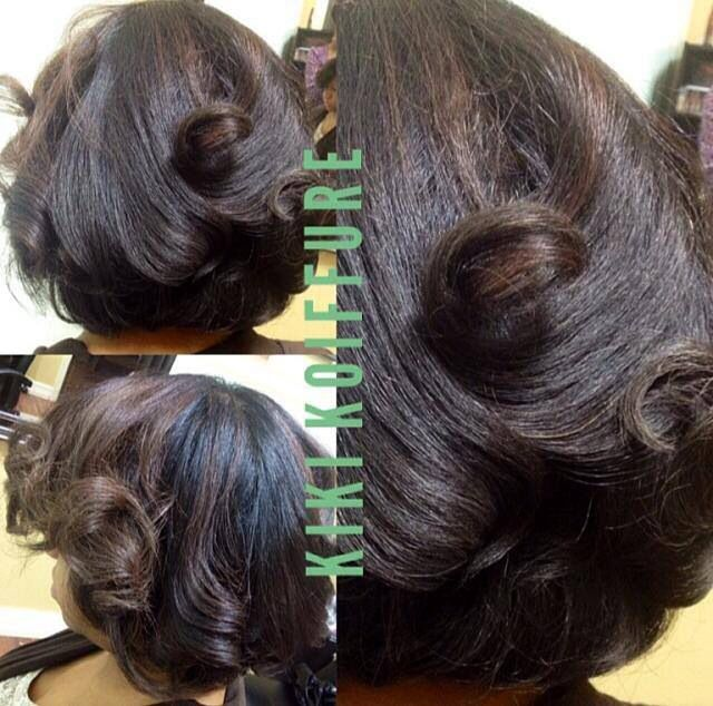 Blowout On C Natural Hair