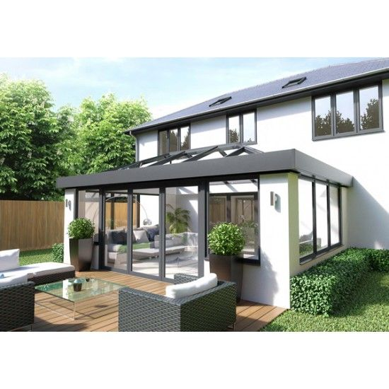 3M X 4M SKYROOM ORANGERY/ REPLACMENT ROOF DOUBLE HIP EDWARDIAN