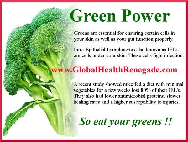 Remember to have your daily serve of greens to bolster your nutrition. Raw or cooked, green fruit and veggies are delicious in salads. Sign up to get more health and wellbeing info at www.globalhealthrenegade.com