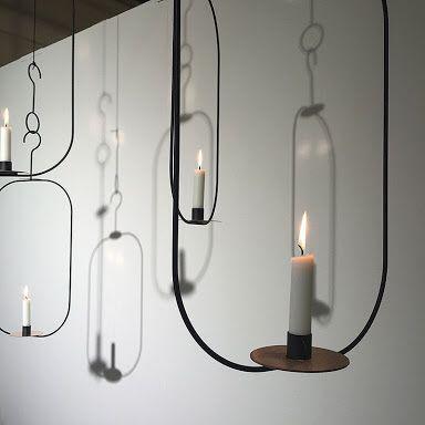 Kristina stark vertical chandelier