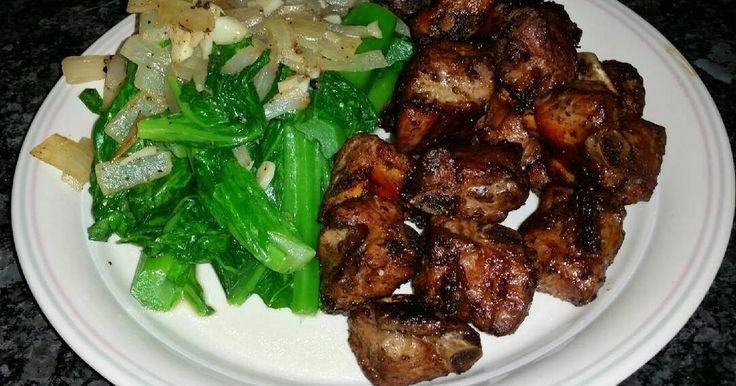 Great recipe for Black Pepper, Garlic, Ginger Riblets