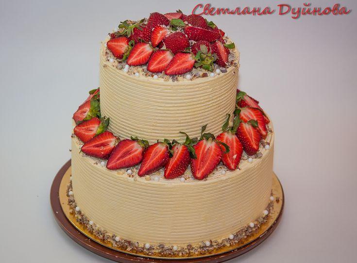 Украшение тортов кремом,шоколадом, фруктами - Сообщество «Кондитерская» - Babyblog.ru - стр. 300