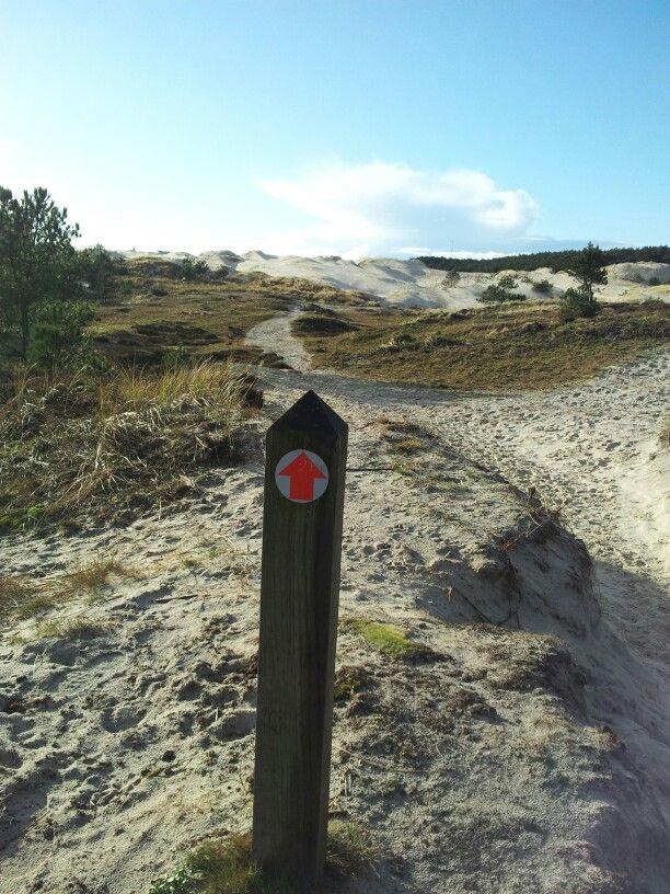 Wandeling in de duinen bij Groet