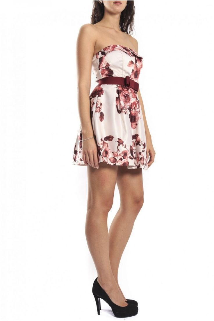 Rinascimento , Short Dress, Floral ART CFC0070054003