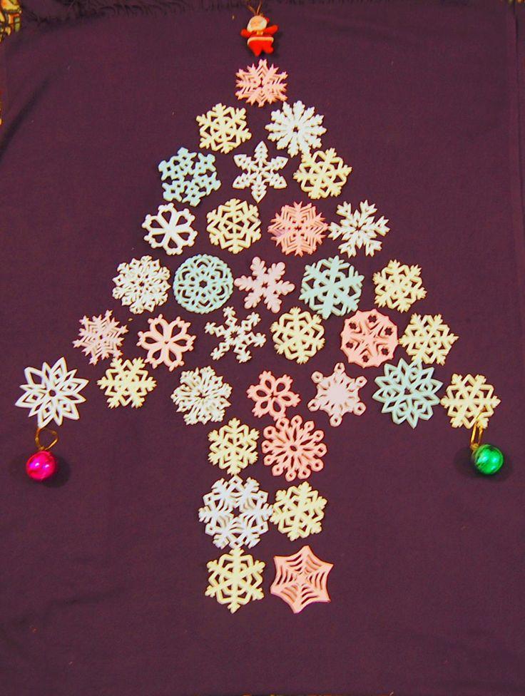 yeni yıl ağacımı kendim yaptım :)