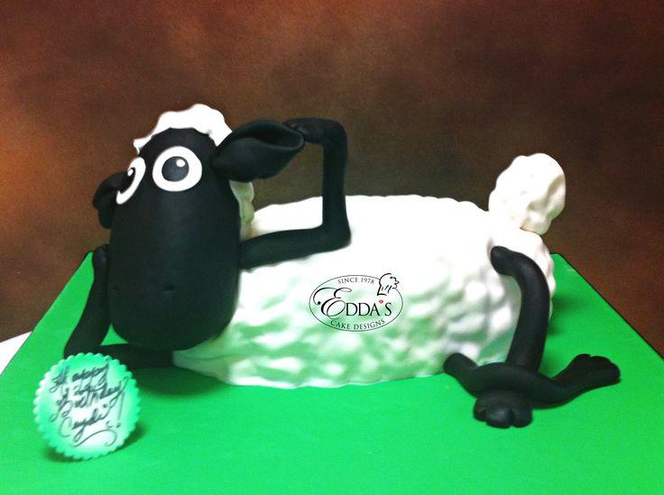 #SheepCake #EddasCakes #CB057 - http://eddascakedesigns.com
