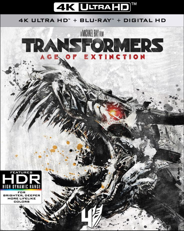 TRANSFORMERS Films to be Released on 4K UHD in December 2017