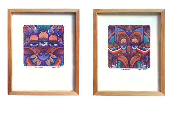 Framed Giclee ltd edition prints SOLD