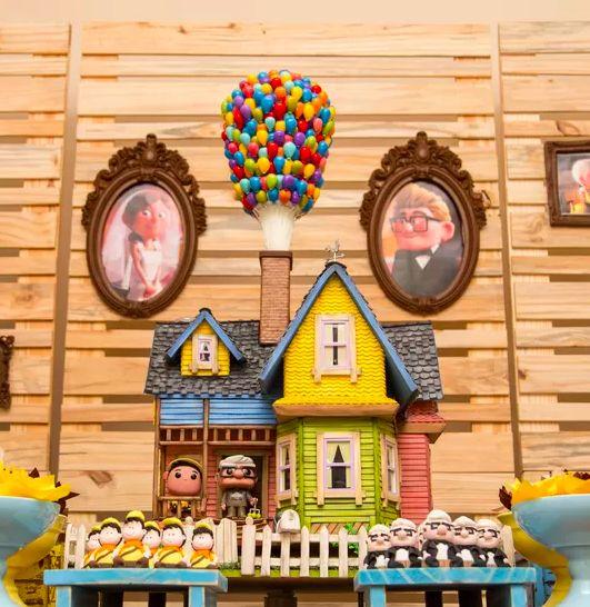 Que tal fazer a festa de aniversário do seu filho com tema de Up? Fica muito legal e com certeza os pequenos vão adorar!