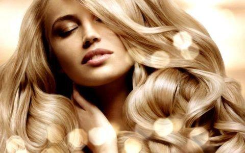 Окрашивание блондинки