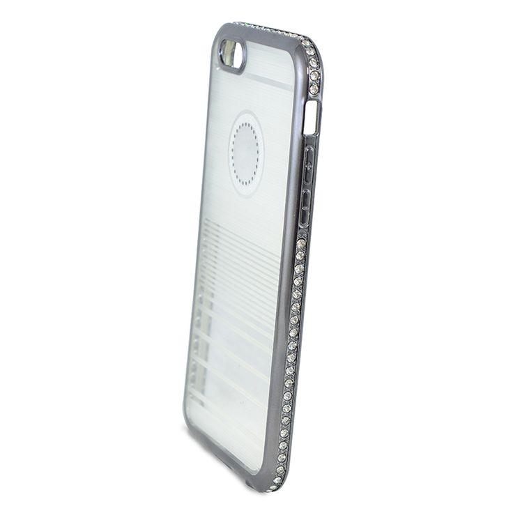 Mobilce | IPHONE 6 WASTON TASLI TPU SIYAH Mobilce | Cep Telefonu Kılıfı ve Aksesuarları