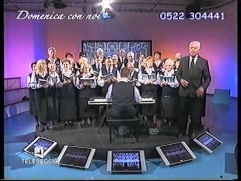 Coro La Ghirlandèina a TeleReggio 28-11-2010