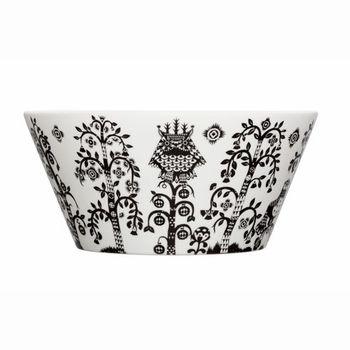 iittala Taika White / Black Serving Bowl - Click to enlarge