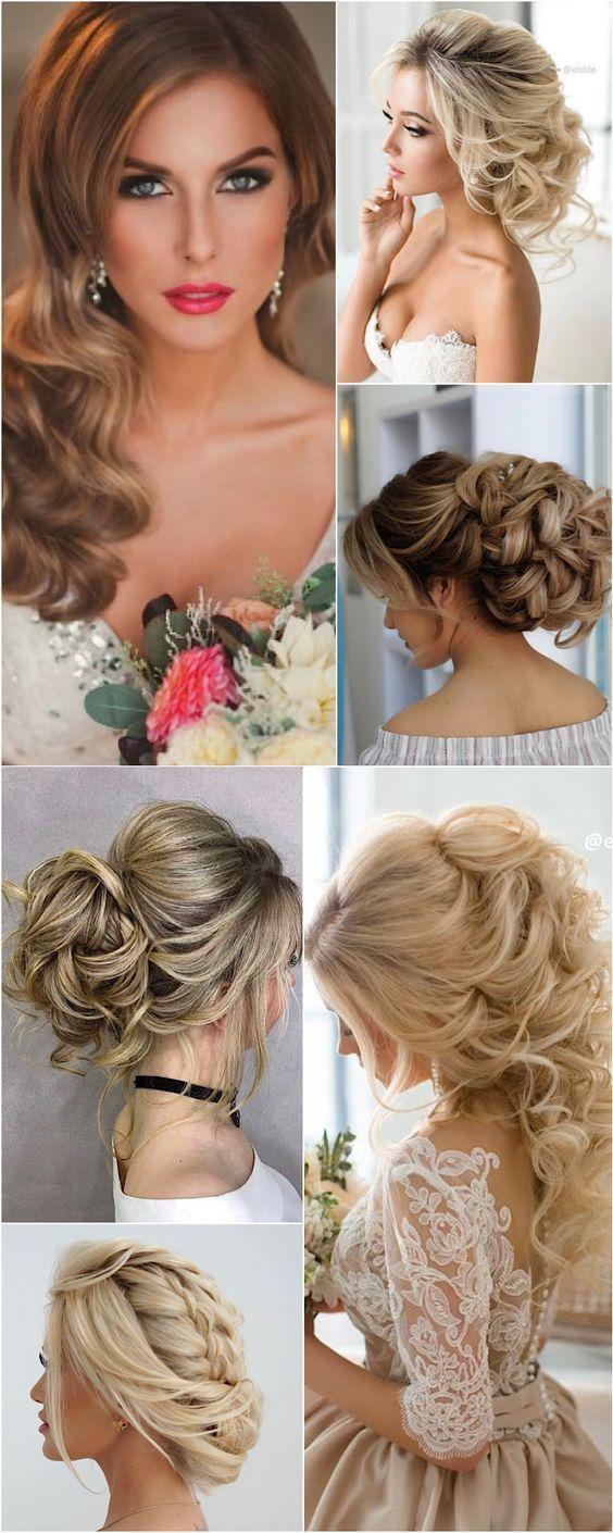 Featured Hairstyle: Elstile; www.elstile.com/; Wedding hairstyle idea.