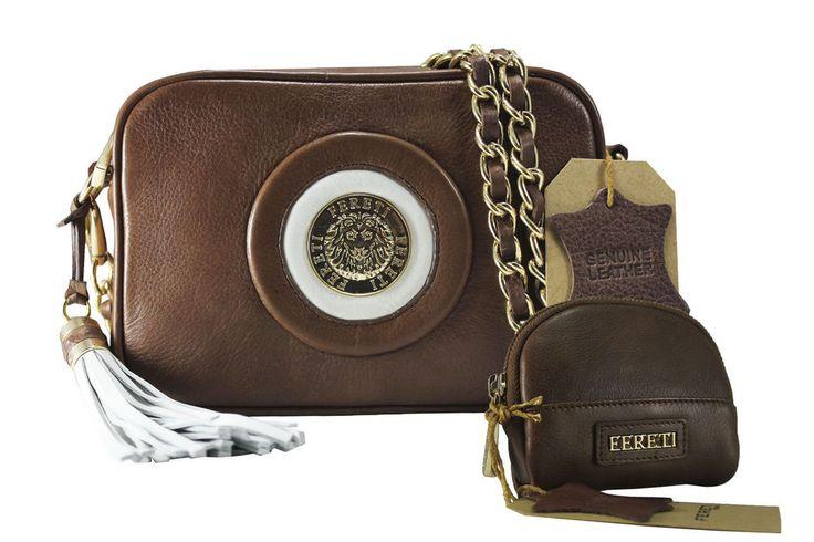 Borse Marrone Leather Handbag Brown Handtasche S Leder Braun Sac a main Cuir
