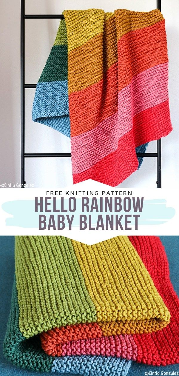 Try Your Hands On This Delicate Knitted Baby Blanket Ideal