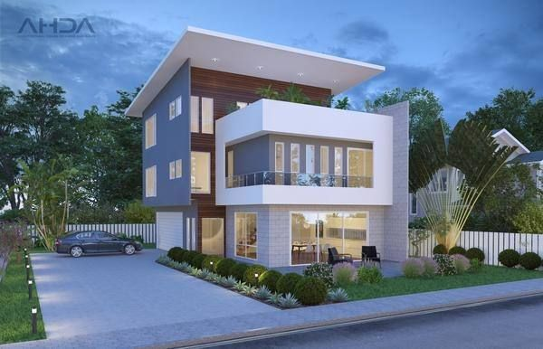 Triple Story House Designs Small Bedroom Remodel House House Design
