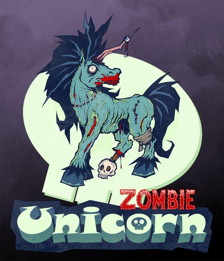 Zombie Unicorn by Nicholas Blottie 31 best