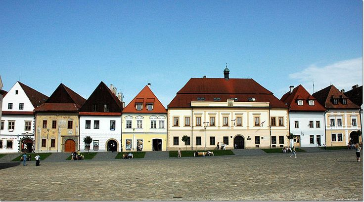 The New Town Hall at Town Hall Square, Bardejov, Slovakia