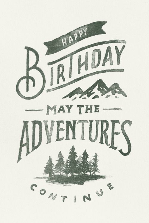 goodtypography:  May The Adventures by Zachary Smith