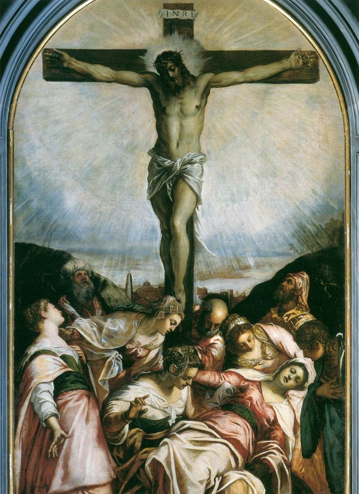"Tintoretto: ""The Crucifixion"", 1560."