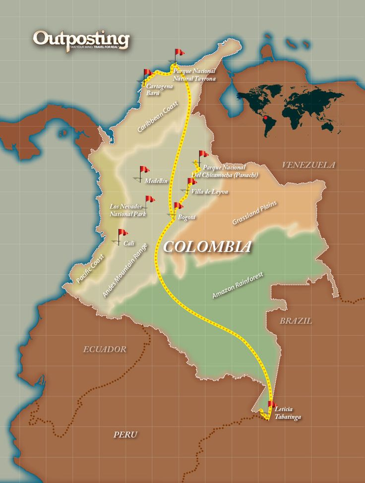 Outpost #Colombia opXpedition