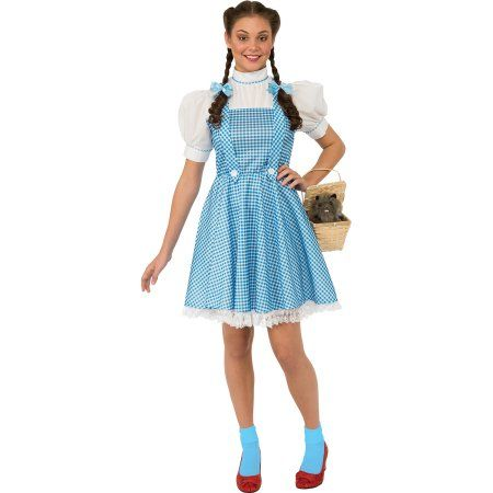 "Wizard of Oz ""Dorothy"" Womans Dress Halloween Costume"