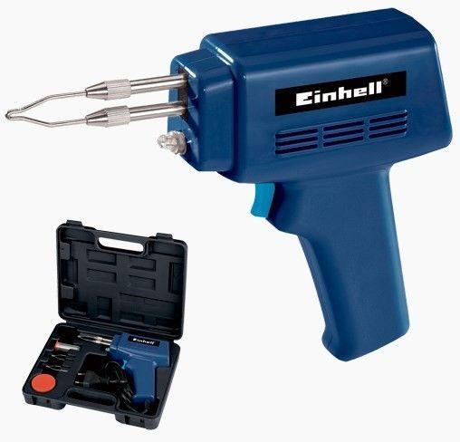 Einhell BT-SG 100 Tabanca Havya  Art. Nr: 4610030 Einhell BT-SG 100 Tabanca Havya ev ve atölye kullanımına uygun pratik lehim yapma aracıdır.