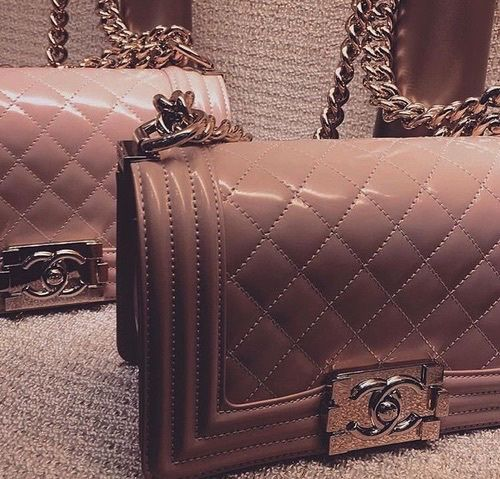 chanel nude bags