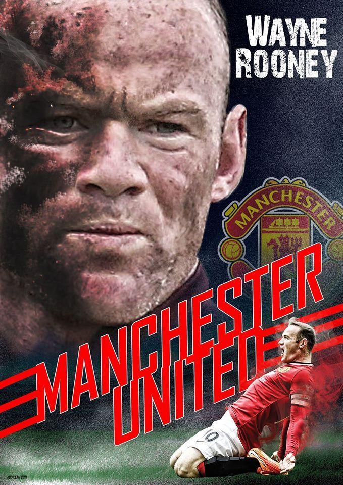 Wayne Rooney (Design:Abdillah)